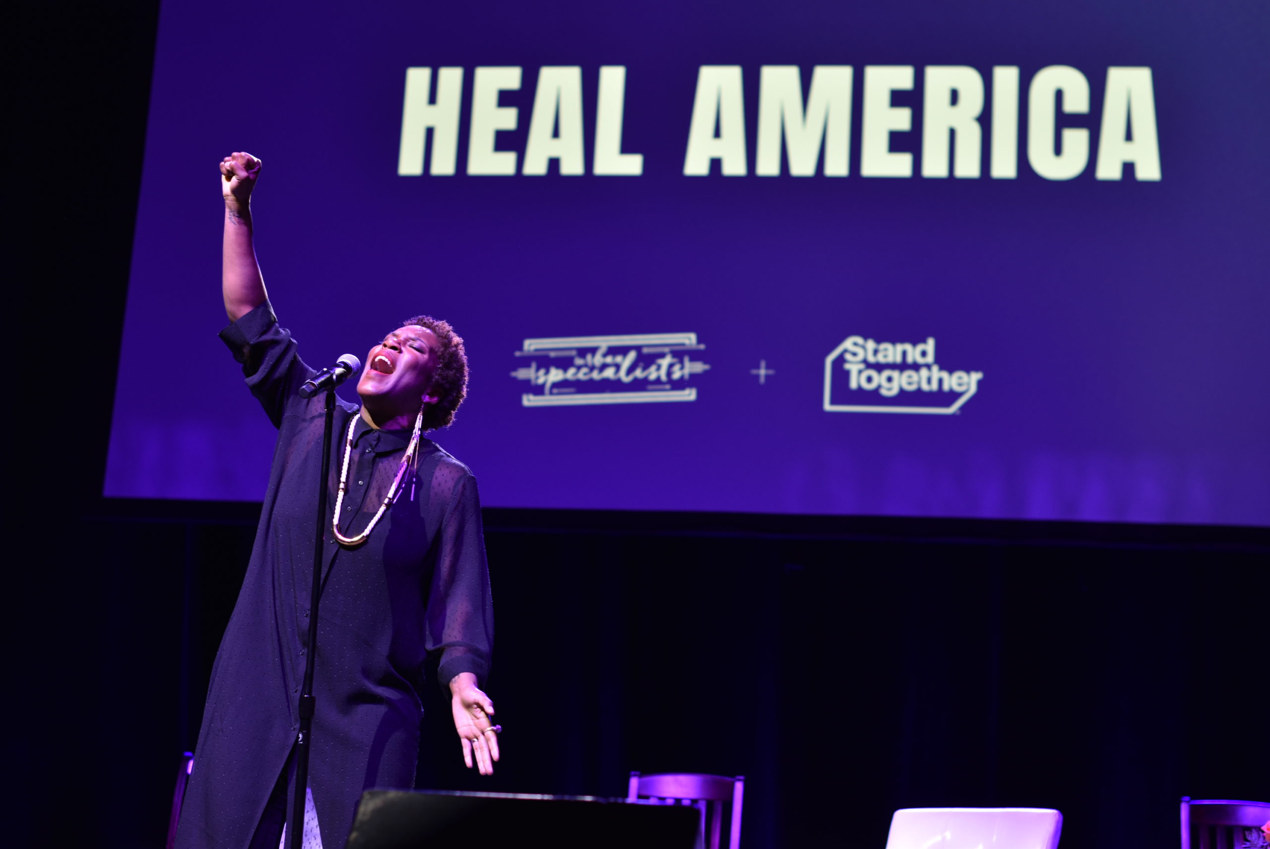 Instagram – Liv Warfield on Heal America